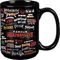 Taboo Famous Headbangers Black Mug 15 oz thumbnail