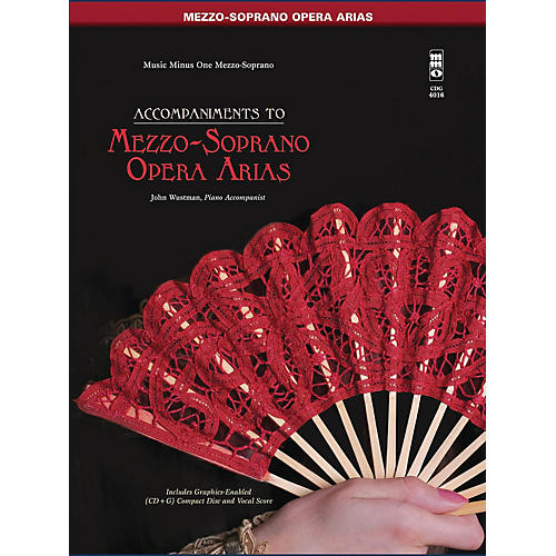 Music Minus One Famous Mezzo-Soprano Arias Music Minus One Series Softcover with CD  by Various