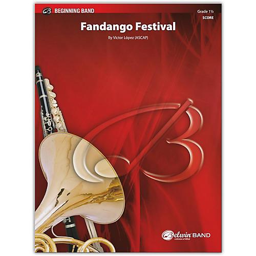 BELWIN Fandango Festival Conductor Score 1.5 (Very Easy to Easy)