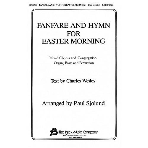 Fred Bock Music Fanfare and Hymn for Easter Morning SATB arranged by Paul Sjolund