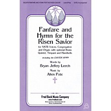 Fred Bock Music Fanfare and Hymn for the Risen Savior SATB composed by Allen Pote