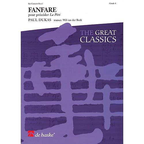De Haske Music Fanfare (from La Péri) Concert Band Level 3 Arranged by Wil Van der Beek