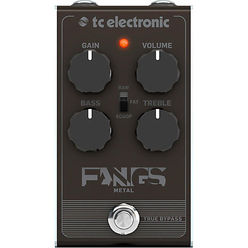 TC Electronic Fangs Metal Distortion Effects Pedal