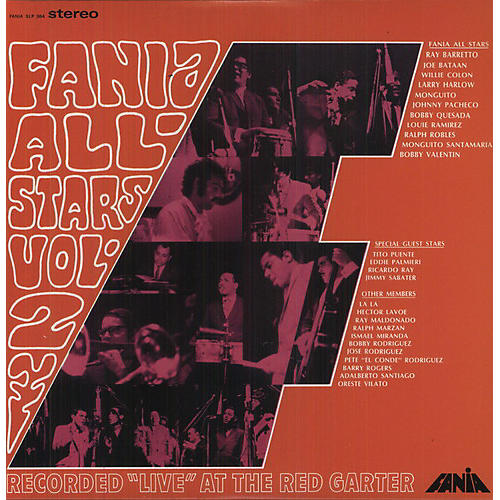 Alliance Fania All-Stars - Live At The Red Garter, Vol. 2