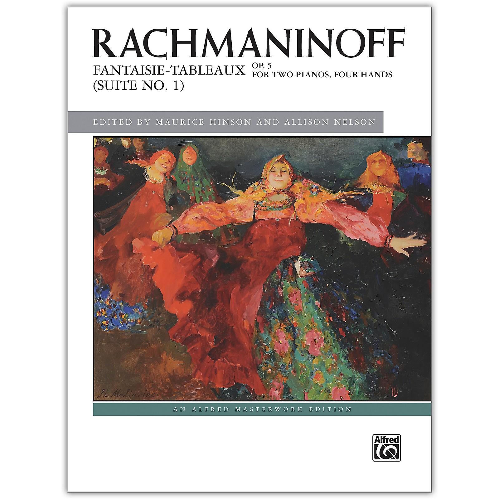 Alfred Fantaisie-tableaux (Suite No. 1), Op. 5 Advanced