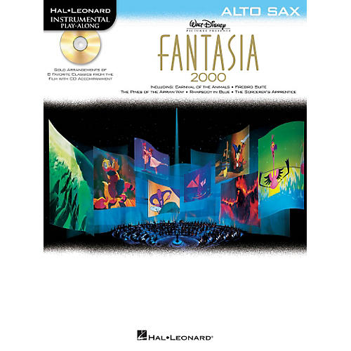 Hal Leonard Fantasia 2000 For Alto Sax - Instrumental Play-Along Book/CD