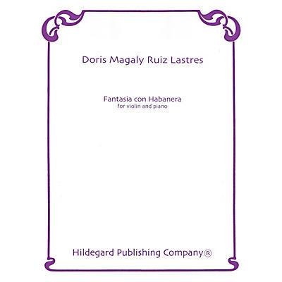 Theodore Presser Fantasia Con Habanera (Book + Sheet Music)