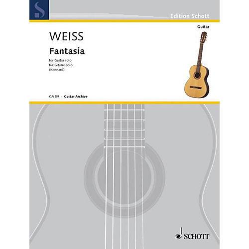 Schott Fantasia (Fantasie) (Guitar Solo) Schott Series