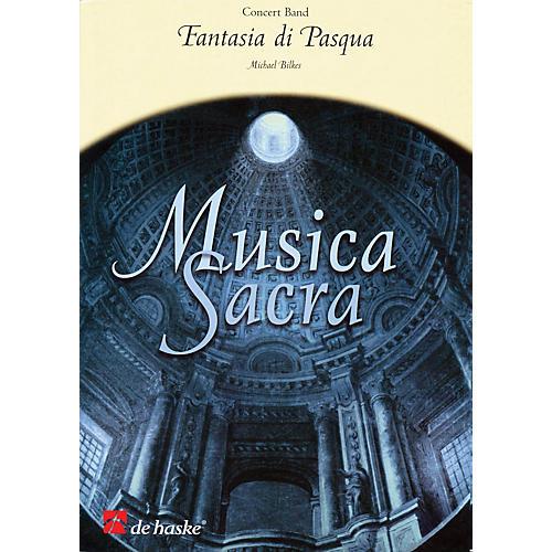 De Haske Music Fantasia di Pasqua Full Score Concert Band Level 2.5 Composed by Michael Bilkes