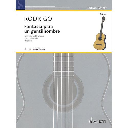 Schott Fantasia para un Gentilhombre (1954) (Guitar and Piano) Schott Series