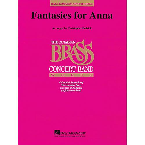 Hal Leonard Fantasies for Anna Concert Band Level 4-5 Composed by Christopher Dedrick