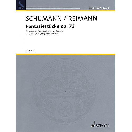 Schott Fantasiestücke, Op. 73 Ensemble Series Composed by Robert Schumann Arranged by Aribert Reimann