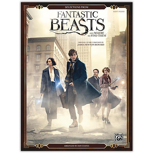 Alfred Fantastic Beasts and Where to Find Them, Selections from Easy Piano