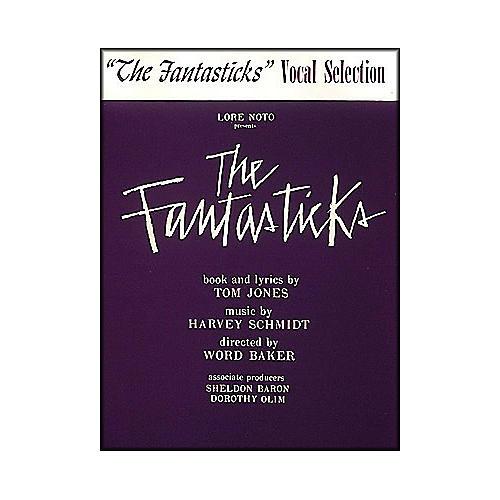 Hal Leonard Fantasticks Vocal Selection arranged for piano, vocal, and guitar (P/V/G)