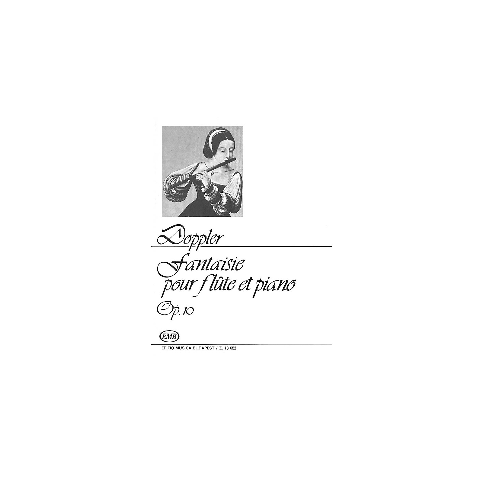 Editio Musica Budapest Fantasy Op. 10 EMB Series by Ferenc Doppler