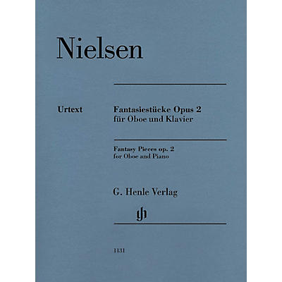 G. Henle Verlag Fantasy Pieces Op 2 (Oboe and Piano) Henle Music Folios Series Book