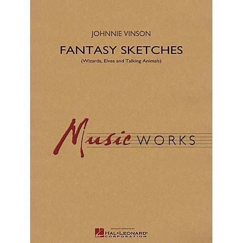 Hal Leonard Fantasy Sketches Concert Band Level 4 Composed by Johnnie Vinson