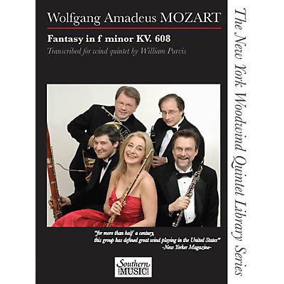 Southern Fantasy in F Minor, K. 608 Southern Music Series by Wolfgang Amadeus Mozart