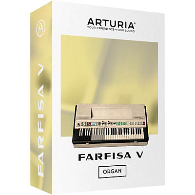 Arturia Farfisa V (Software Download)
