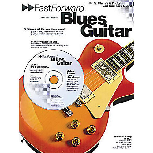 Music Sales Fast Forward - Blues Guitar Music Sales America Series Softcover with CD Written by Rikky Rooksby