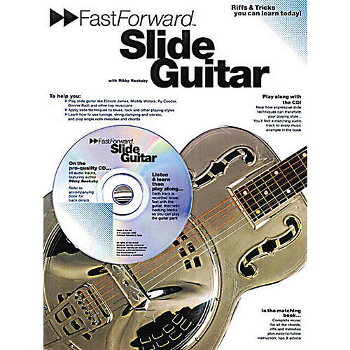 Music Sales Fast Forward - Slide Guitar Music Sales America Series Softcover with CD Written by Rikky Rooksby
