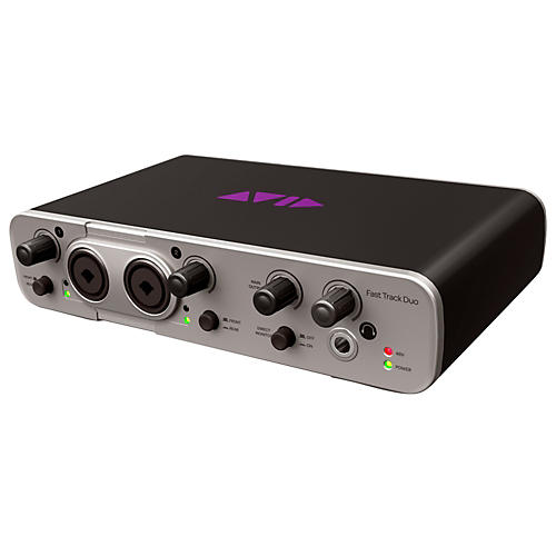 Avid Fast Track Duo with Pro Tools Express