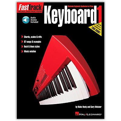 Hal Leonard Fast Track Keyboard Method Book 1 (Book/Online Audio)