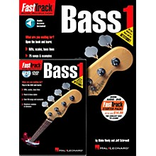 Hal Leonard FastTrack Bass Method Starter Pack (Book/Online Audio/DVD)