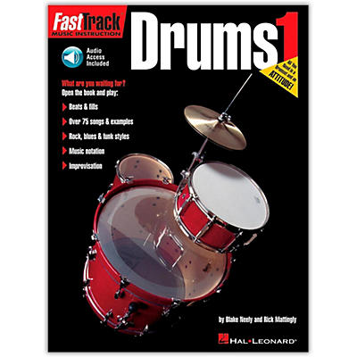 Hal Leonard FastTrack Drum Method 1 (Book/Online Audio)