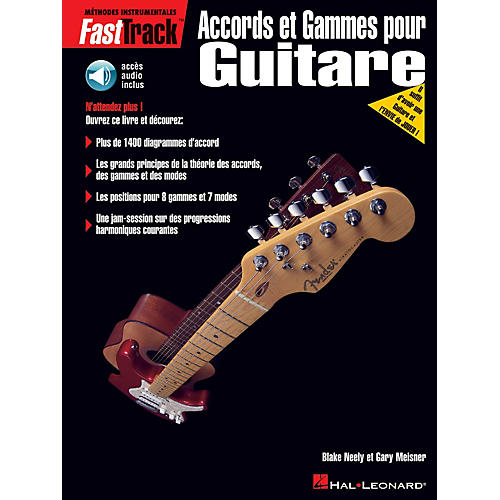 Hal Leonard FastTrack Guitar Chords & Scales - French Edition BK/CD by Blake Neely
