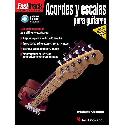 Hal Leonard FastTrack Guitar Chords & Scales - Spanish Edition BK/Audio Online by Blake Neely
