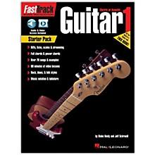 Hal Leonard FastTrack Guitar Method - Starter Pack Book/Online Audio and Video