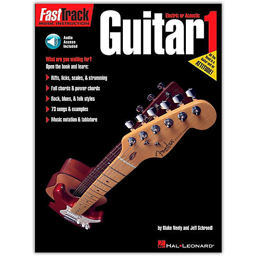 Hal Leonard FastTrack Guitar Method Book 1 (Book/Online Audio)