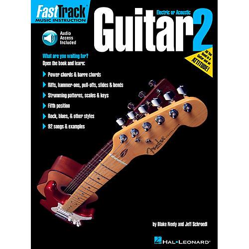 Hal Leonard FastTrack Guitar Method Book 2 (Online Audio and Book)