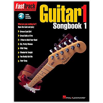 Hal Leonard FastTrack Guitar Songbook 1 Level 1 (Book/Online Audio)