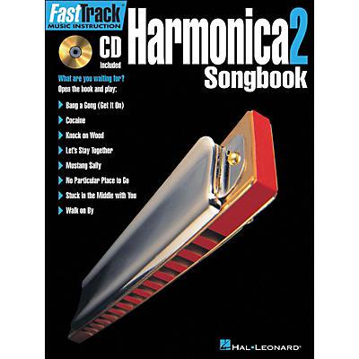Hal Leonard FastTrack Harmonica Songbook 1 Level 2 Book/CD