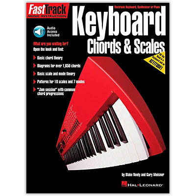 Hal Leonard FastTrack Keyboard Chords and Scales (Book/Online Audio)