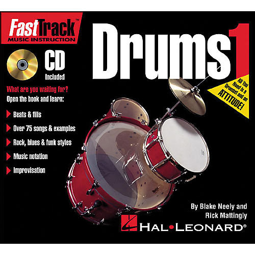 Hal Leonard FastTrack Mini Drum Method Book 1 Book/CD