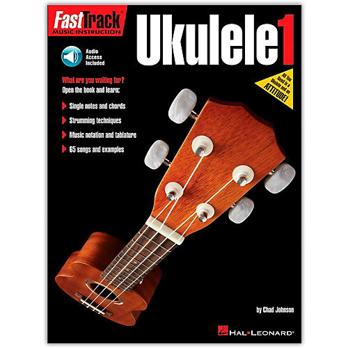 Hal Leonard FastTrack Ukulele Method Book 1 (Book/Online Audio)