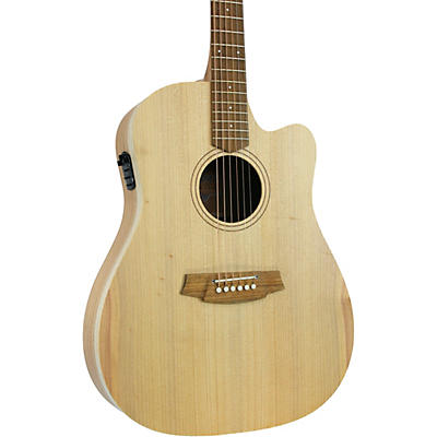 Cole Clark Fat Lady 1 CCFL1EC-BM Dreadnought Acoustic-Electric Guitar