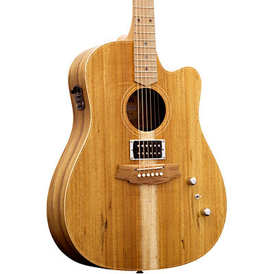 Cole Clark Fat Lady 2 Series Australian Blackwood Dreadnought Humbucker Acoustic-Electric Guitar