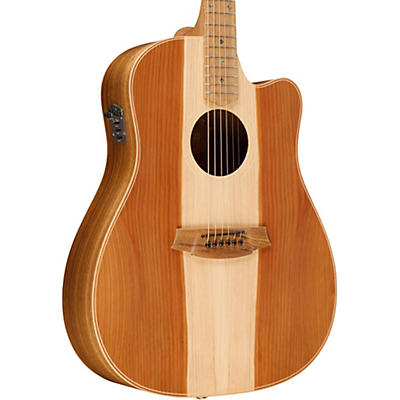Cole Clark Fat Lady 2 Series Australian Eco Redwood/Blackwood Dreadnought Acoustic-Electric Guitar