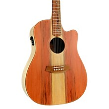 Cole Clark Fat Lady 2 Series CCFL2EC-RDEM Dreadnought Acoustic-Electric Guitar
