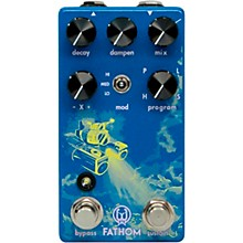 Walrus Audio Fathom Multi-Function Neon Reverb Effects Pedal