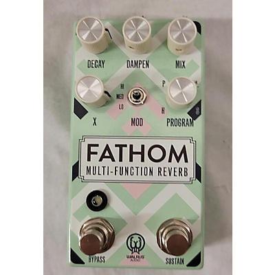 Walrus Audio Fathom Reverb Effect Pedal
