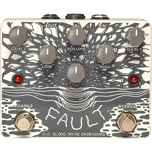 Old Blood Noise Endeavors Fault Overdrive / Distortion Effects Pedal