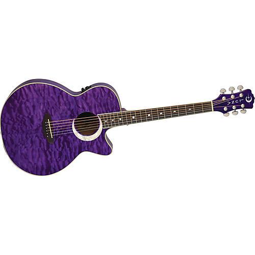 Luna Guitars Fauna Eclipse Folk Acoustic-Electric Guitar
