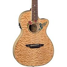 Open BoxLuna Guitars Fauna Humminbird Acoustic-Electric Guitar