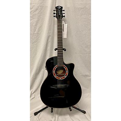 Luna Guitars Fauna Nox Acoustic Electric Guitar