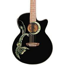 Luna Guitars Fauna Phoenix Folk Style Cutaway Acoustic-Electric Guitar